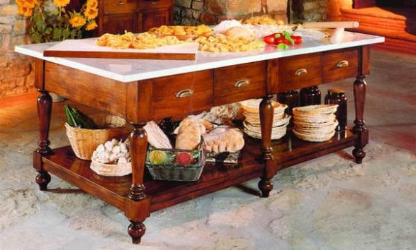 Какие бывают разделочные столы