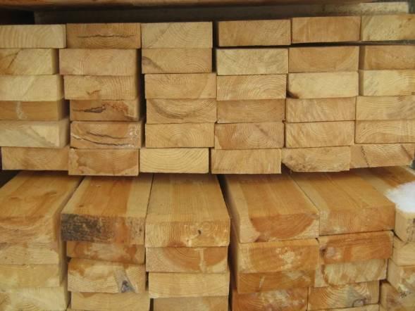 Доска обрезная: применение в строительстве