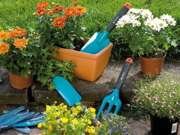 Общий и вспомогательный садово-огородный инвентарь