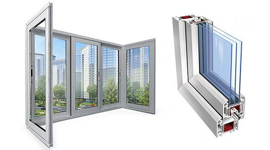 Остекление балкона окнами ПВХ: особенности и достоинства