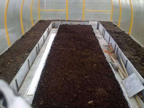 Подготовка грунта для огурцов в теплице