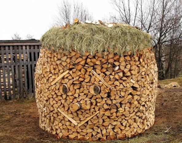 способы укладки дров