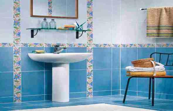 Как оформить ванную комнату плиткой