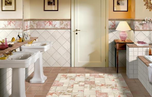 Оформление ванной комнаты плиткой фото: как...