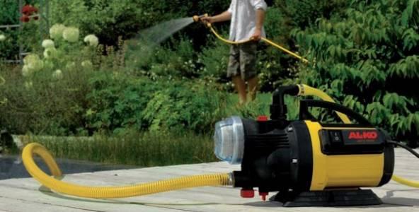 Поверхностные насосы для организации дачного водоснабжения