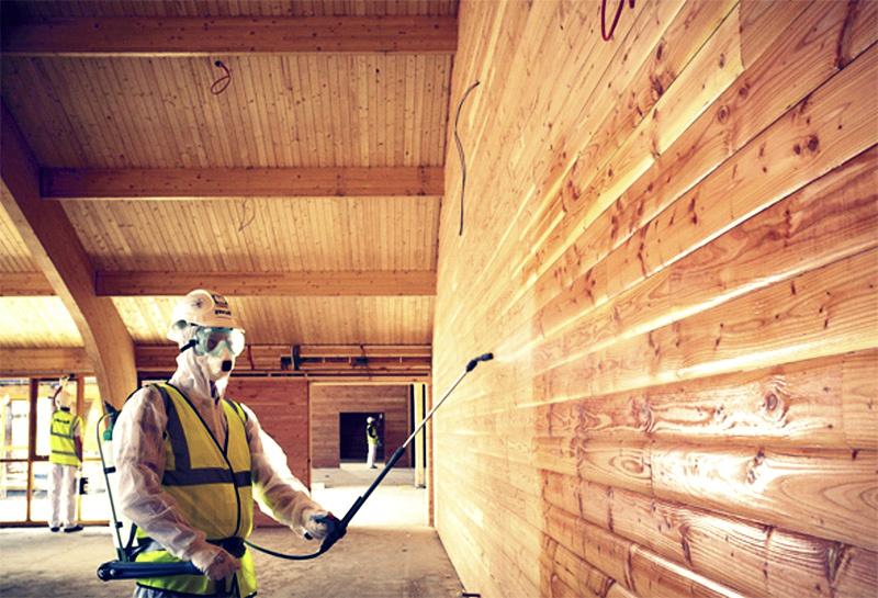 Защита деревянного дома: антисептики, антипирены