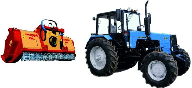 Какой мульчер подойдет для трактора Беларус?