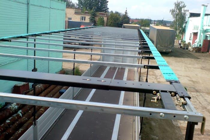 Виды и назначение роликов сдвижных крыш