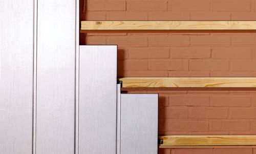 Основные методы установки стеновых панелей