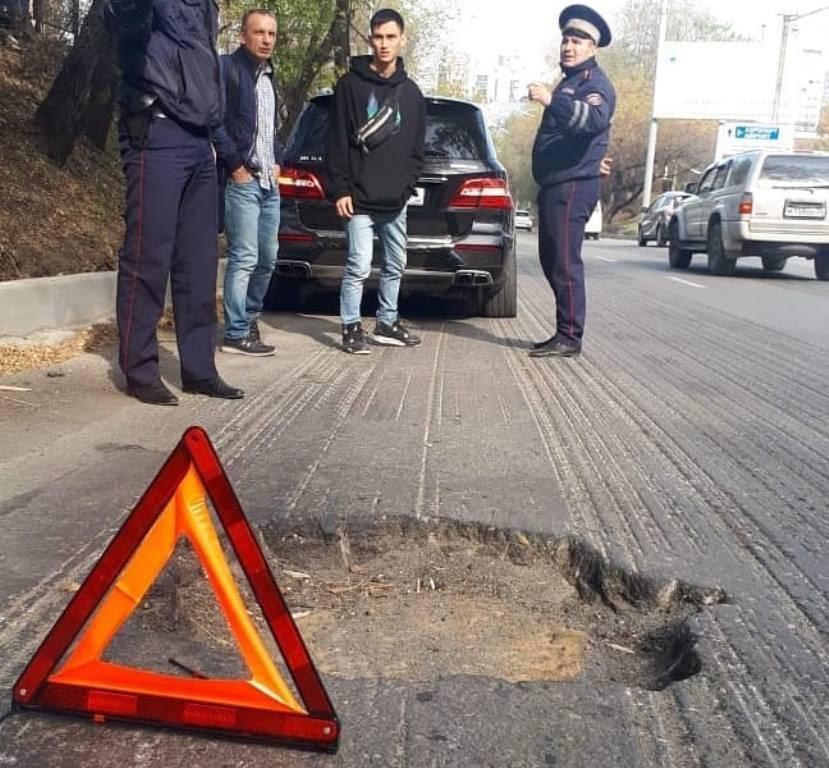 Какие повреждения вызывают выбоины на дорогах