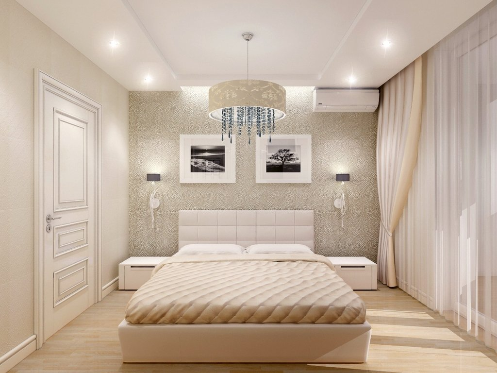 Как правильно выбрать и повесить бра в спальне